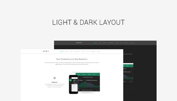 SPOT - App / Service Landing Page
